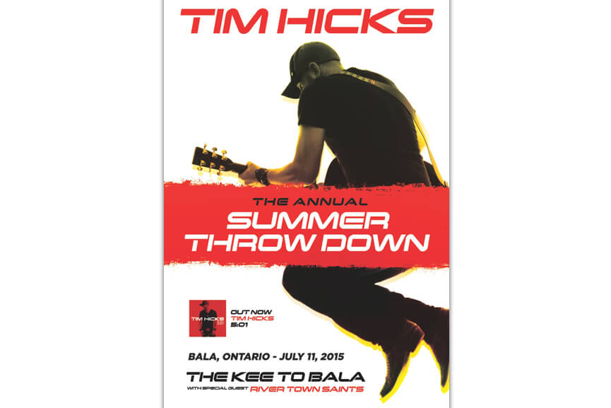 Tim Hicks at The KEE