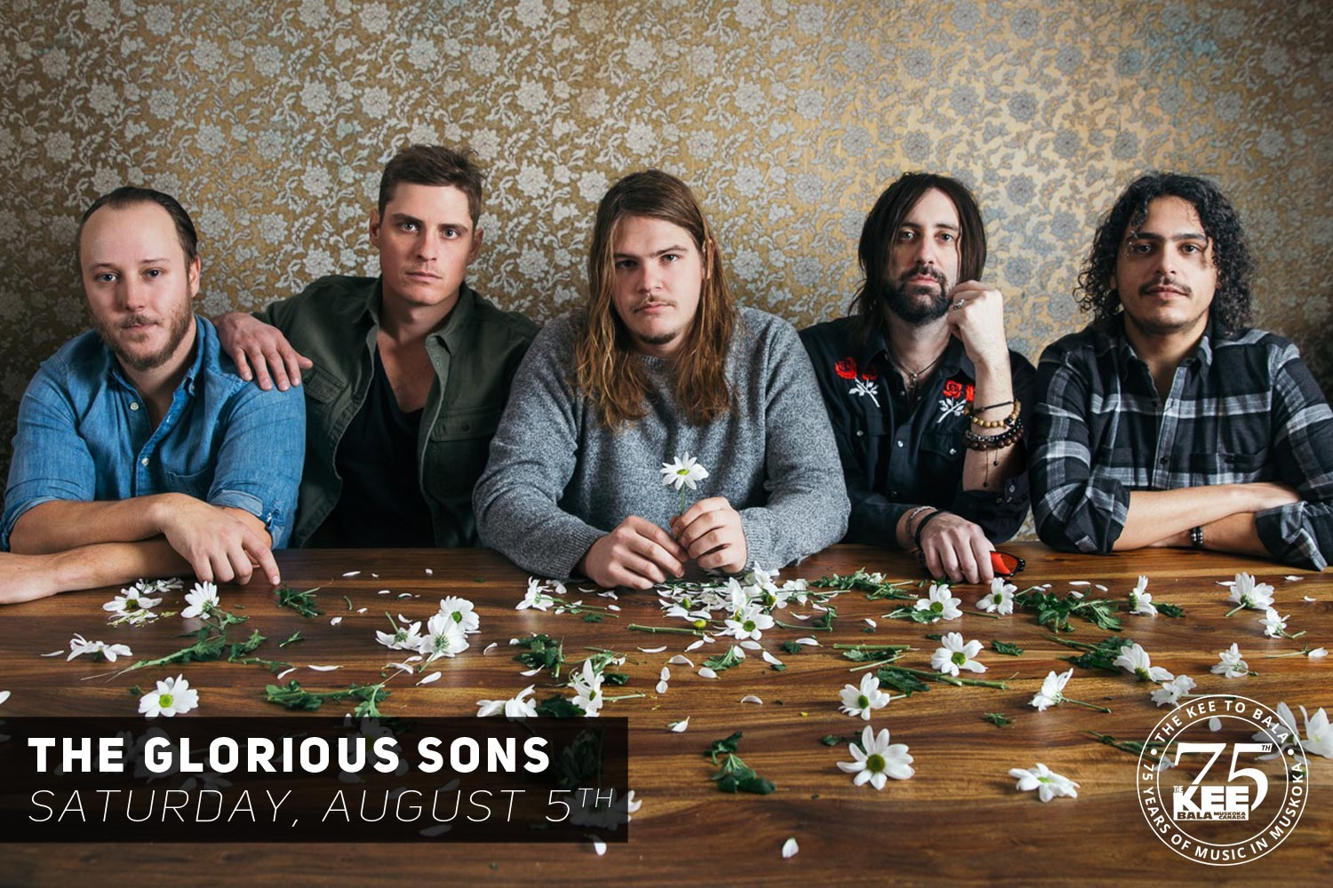 The Glorious Sons at The KEE to Bala
