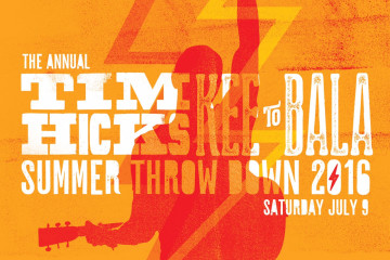 Tim Hicks Annual Summer Throwdown at The KEE to Bala