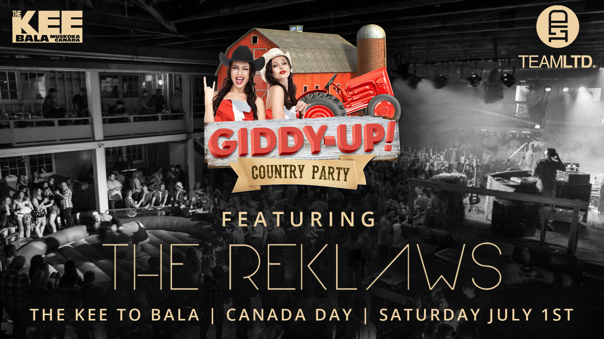 Giddy Up Country Party at The KEE