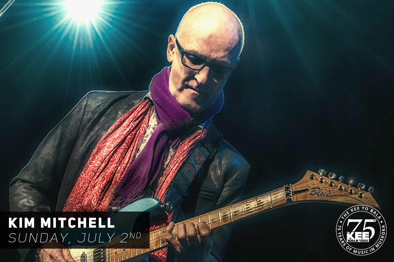 Kim Mitchell at The KEE to Bala