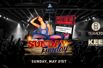 TEAMLTD's Sunday Funday Presented by Georgian Bay Spirit Co. ****LIMITED NUMBER OF TICKETS AVAILABLE AT TICKET WINDOW TONIGHT