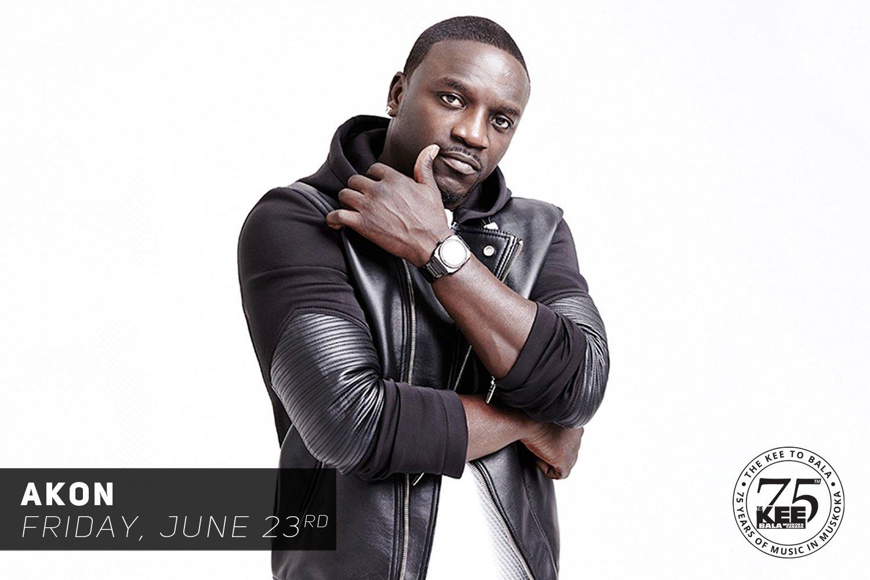 Akon at The KEE to Bala
