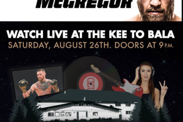 Mayweather vs McGregor – The Ultimate Summer Send Off Party!