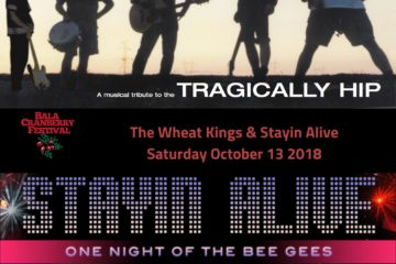 The Cranberry Festival Presents – The Wheat Kings & Stayin' Alive